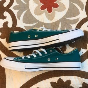Converse Shoes - Teal Converse W9.5 & M7.5